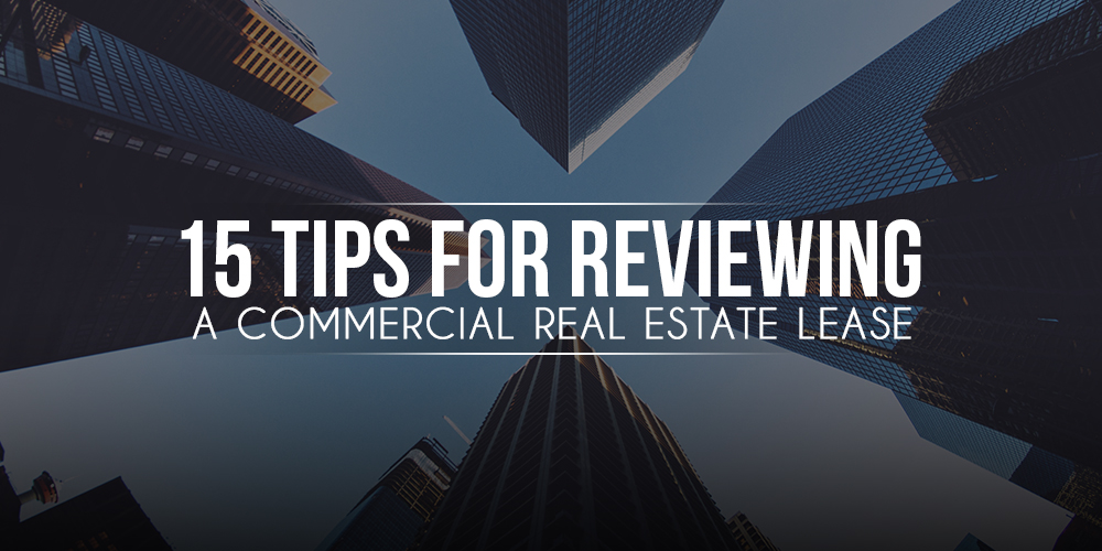 How To Review A Commercial Real Estate Lease Alex Ramirez